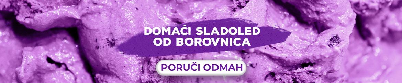Sladoled od Borovnice