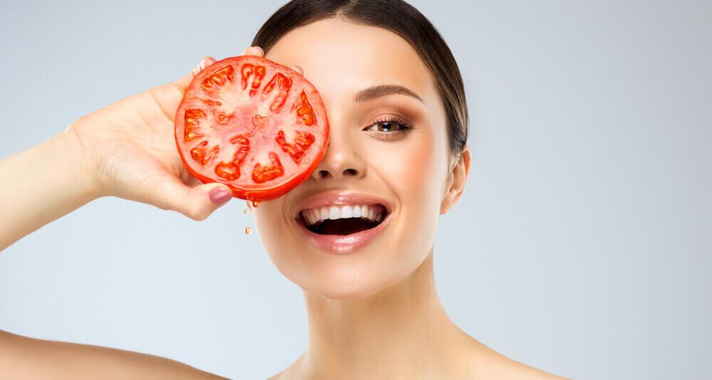 paradajz lepa koža