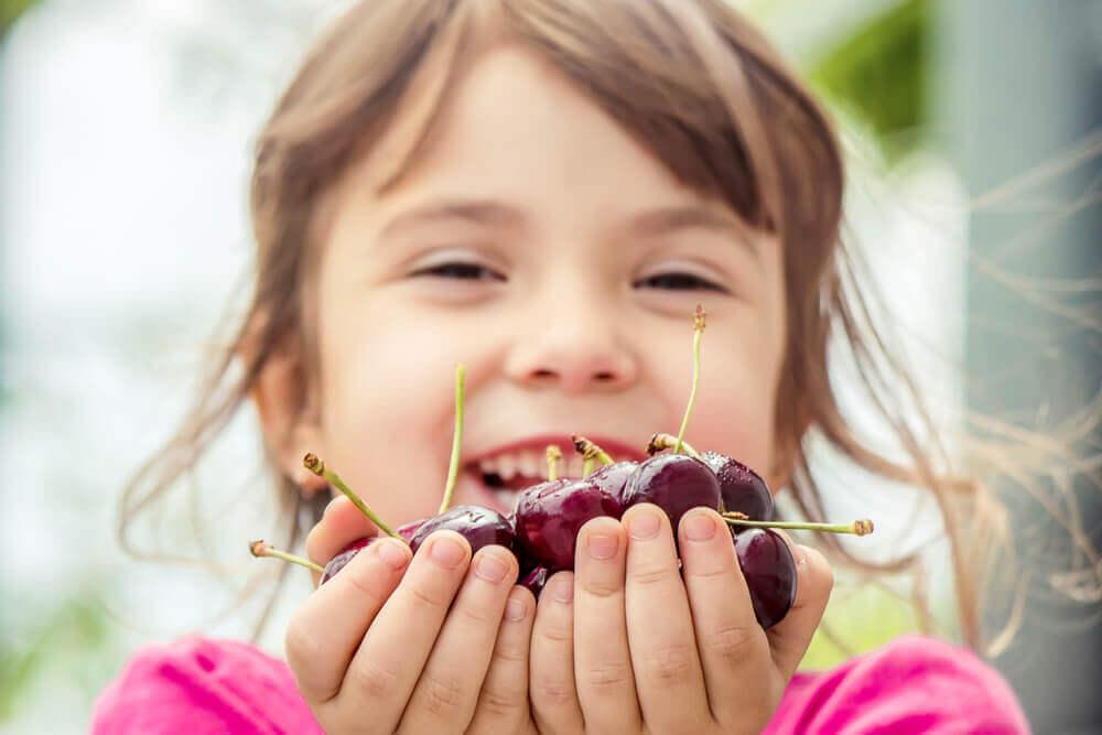 trešnje u dečijoj ishrani